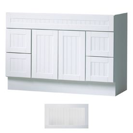 Create Photo Gallery For Website Insignia Providence Satin White Transitional Bathroom Vanity Common in x