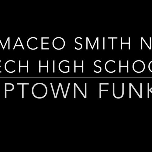 A. Maceo Smith Teacher video goes viral doing a dance video to the popular song Uptown Funk by Bruno Mars.