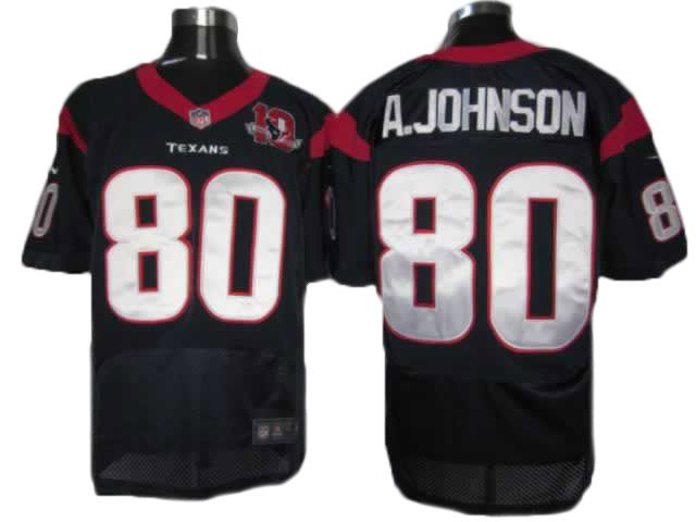 ohmy gad package mail cheap jerseysnike houston texans andre johnson blue official quality nfl
