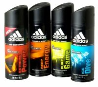 Adidas Deodorant Body Spray 150ml Fresh power 24h Developed with ahletes