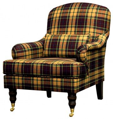 another tartan plaid chair