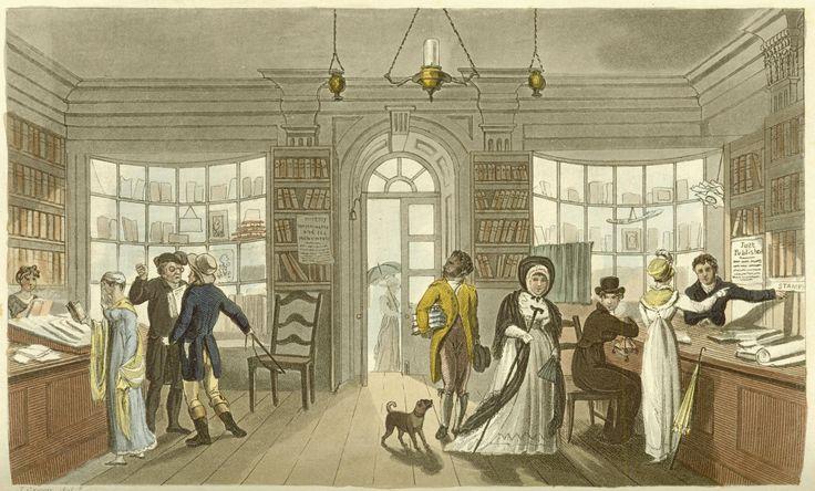 Library, Scarborough, 1813