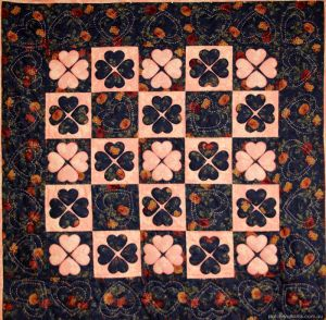 Sweet Heart Quilt.  It's not just about the shopping. Making quilts from the fabric stash.