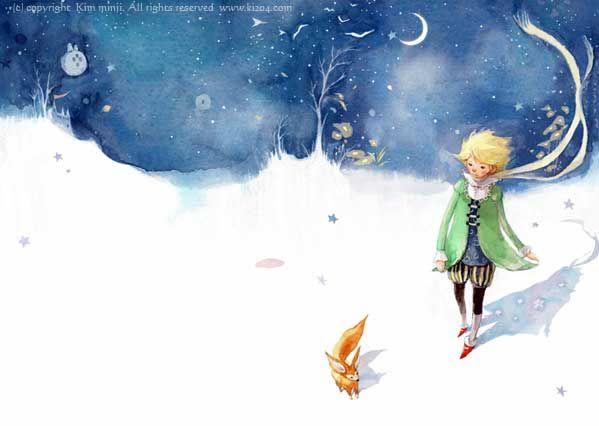 Kim Min Ji illustrations -- the Little Prince