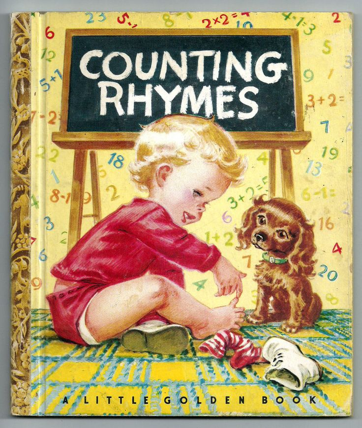 ''Counting Rhymes'' Little Golden Book 1946, illus. Corinne Malvern | eBay