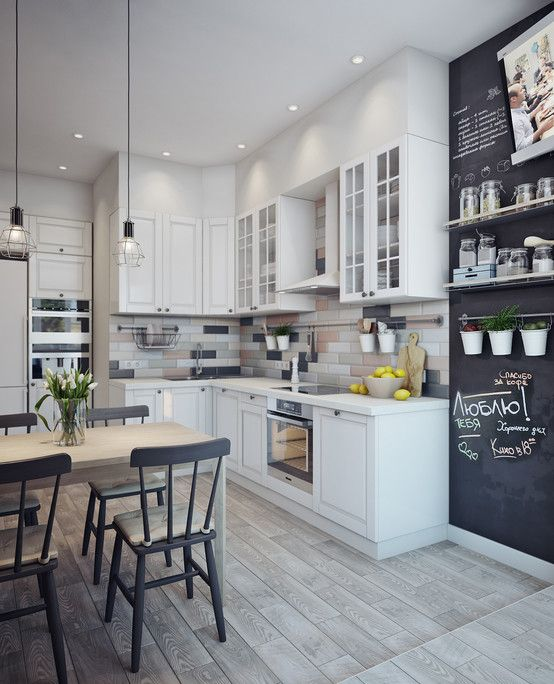 Кухня в скандинавском стиле : Кухня в скандинавском стиле от Анна Теклюк