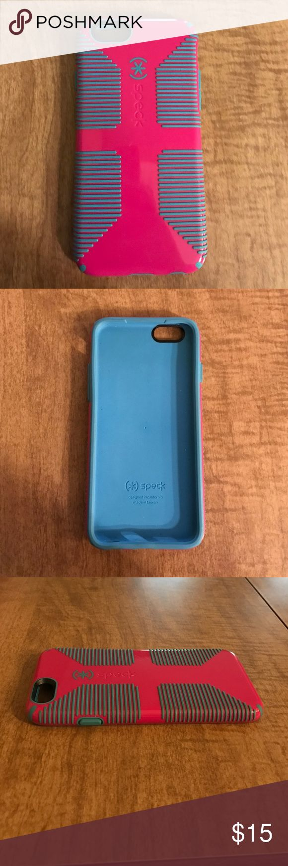 iPhone 6 4.7 in. Speck Case Case is in great condition! Gently used with no issues. Great phone protection. Accessories Phone Cases