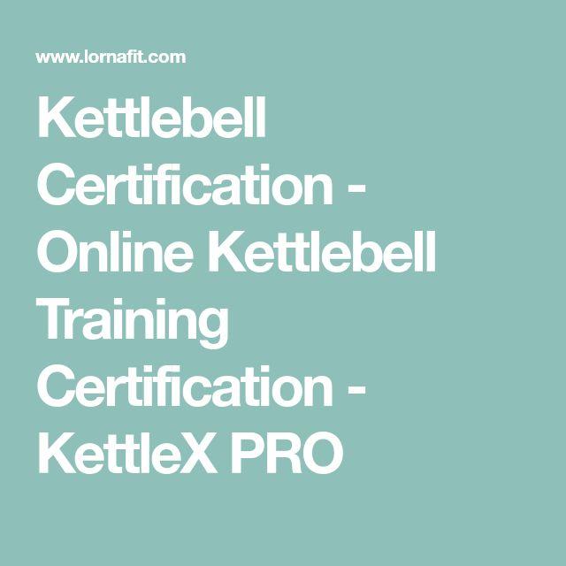 Kettlebell Certification - Online Kettlebell Training Certification - KettleX PRO