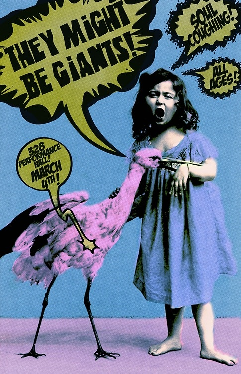 They Might Be Giants at 328   gigposter