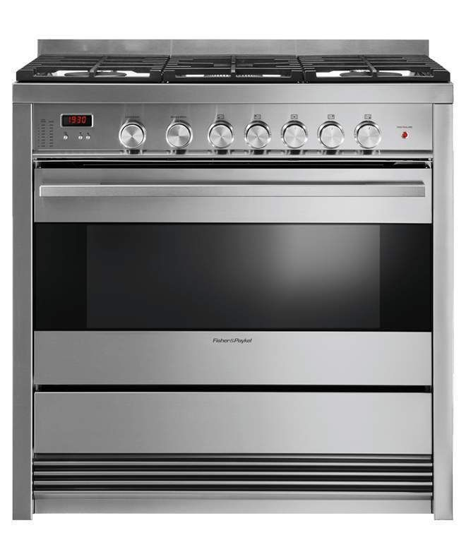 Major Appliances: Fisher And Paykel 36 Stainless Steel 5 Burner Gas Range Or36sdbmx1 Brand New -> BUY IT NOW ONLY: $2499.99 on eBay!