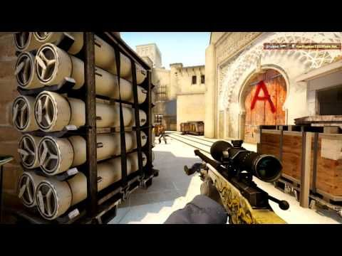 CS GO GAMEPLAY WITH SOME NOSCOPES !