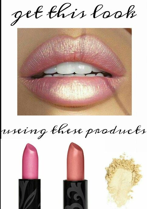 Ritzy and Upscale opulence lipstick with Angelic pigment make a great combination. I love how versatile YOunique products are!
