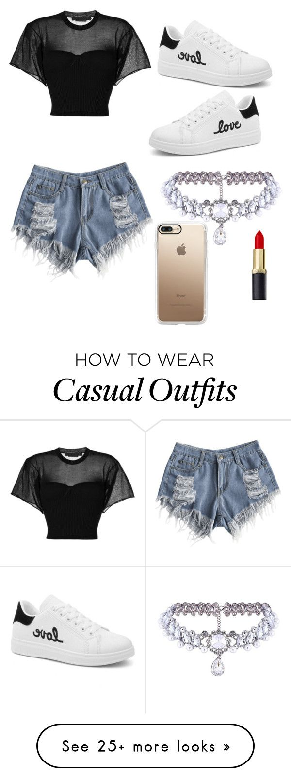 """Casual late night dinner"" by alyssa-ricker on Polyvore featuring Alexander Wang, WithChic, Casetify, gucci and polyvorefashion"