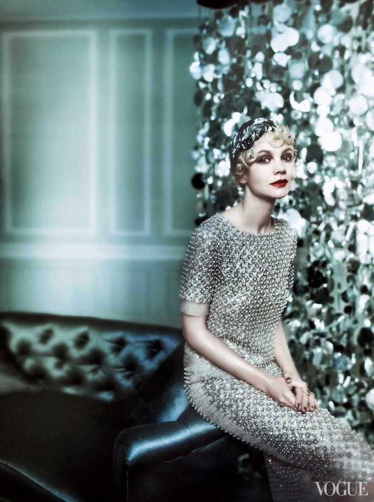 Carey Mulligan in Vogue, by Mario Testino: