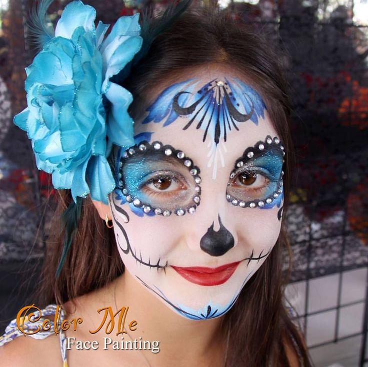 Best 20+ Sugar skull face paint ideas on Pinterest | Sugar ...
