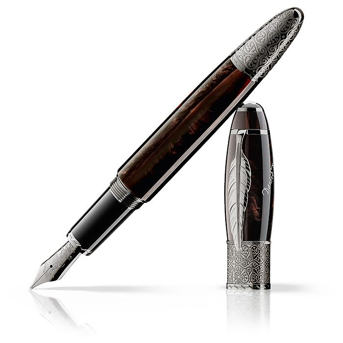 Montblanc - Limited Edition Daniel Defoe --  Montblanc pays homage to Daniel Defoe with a distinguished collection in a limited edition worldwide – a tribute to one of the greatest icons of literary history.