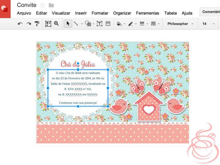 Passo a Passo: Convites de Passarinhos | Blog do Meu Chá