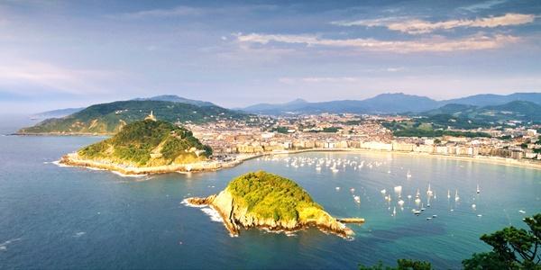 San Sebastian - panoramic