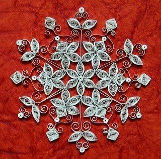 #Decorazione natalizia, #quilling by COCCINELLA, 6,00 € su #misshobby.com
