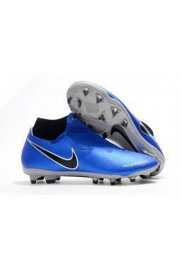 hot sale online d10ac bb1f8 Botas De Futbol Nike Phantom Vision Elite DF FG - Azul Negro Compra Venta