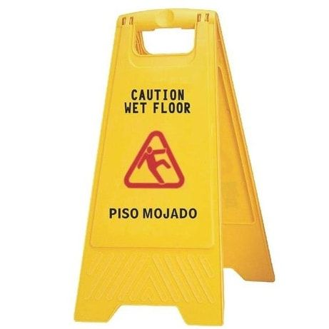 Chicksaw & Little Rock 628 Wet Floor Sign 2 Sided
