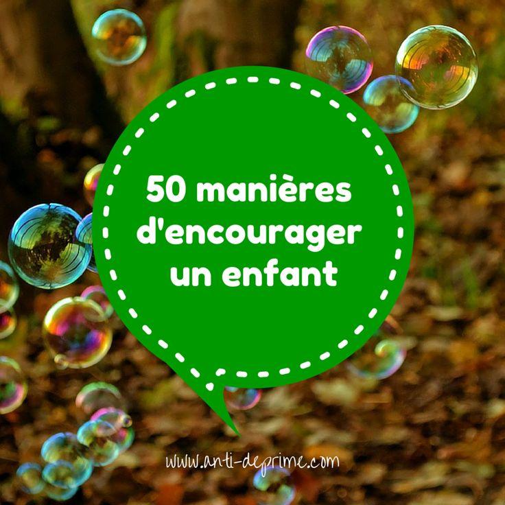 50 manièresd'encouragerun enfant-3