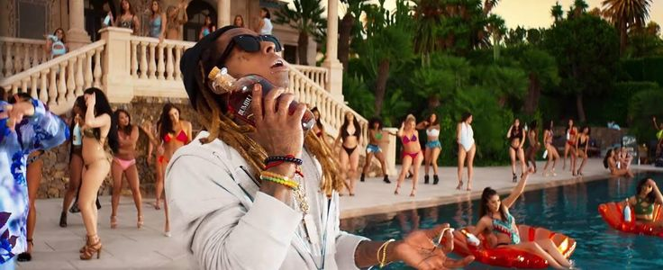 "Potential song of the summer ""I'm the One"" (featuring DJ Khalid Justin Bieber Chance the Rapper Quavo and Lil Wayne) used quite a bit of subliminal advertising in it's music video. Ranging from headphones to alcohol they showcased six different products that had an average price of $120."