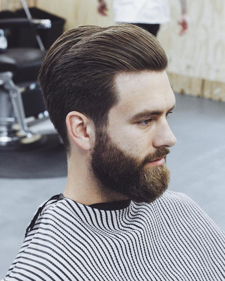 Slick Back Businessman Hairstyles