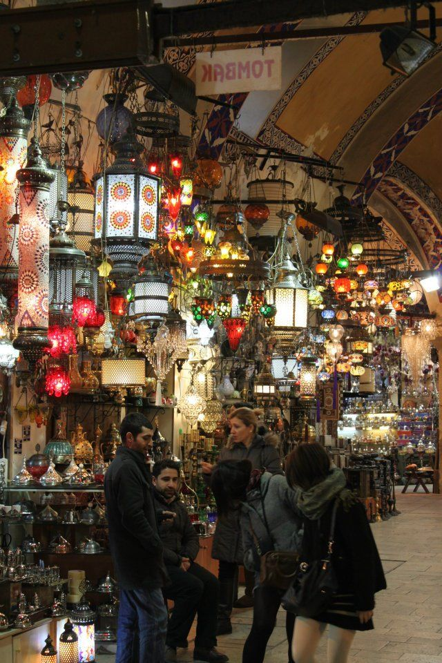 The Grand Bazaar....incredible...an entire retired mosque full of wares to ponder!
