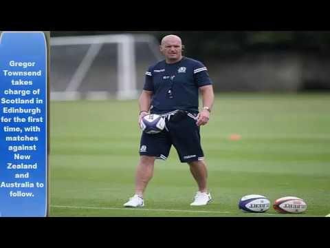 Gregor Townsend, Scotland, Samoa national rugby union team, Darr...