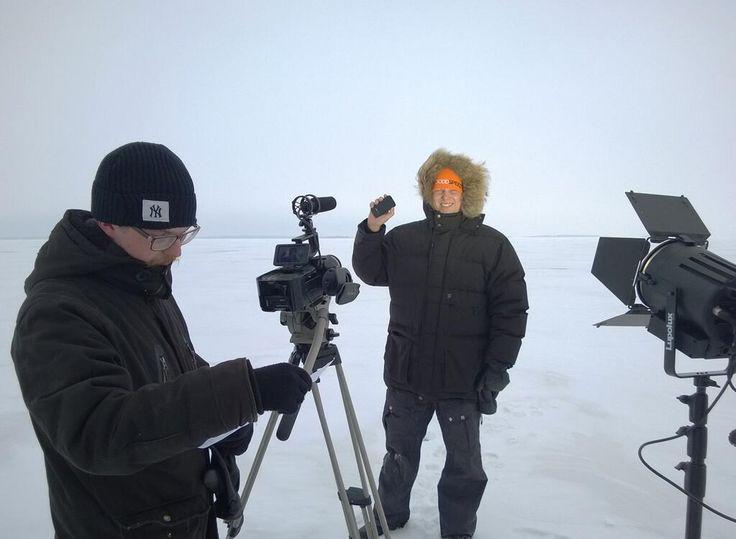Preparing for the Polar Bear Pitch. Watch us live at 12:40CET http://www.pitchfestoulu.com/polarbear/ #pitchfestoulu pic.twitter.com/zbZMdKlj28