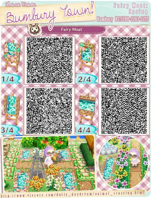 Animal crossing qr code floor paths boden wege for Animal crossing boden qr