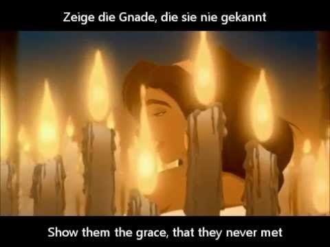 """* Gott Deine Kinder flehen Dich an, zeige die Gnade, die sie nie gekannt.... """"Der Glöckner von notre Dame - Gott deine Kinder - (Subs In English"""""""