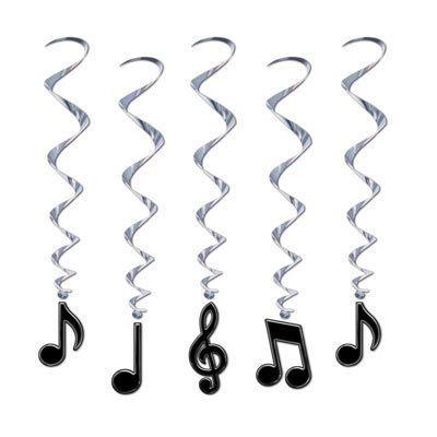 Muzieknoten Whirls
