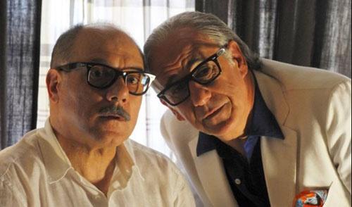 La grande bellezza di Paolo Sorrentino. Nella foto: Carlo Verdone con Toni Servillo