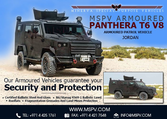 Armoured Personnel Carrier Jordan