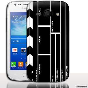 Coque Samsung France ACE 3 Cinema Clap - Coque Made in France. #Cinema #Clap #etui #accessoire #Samsung #Ace3