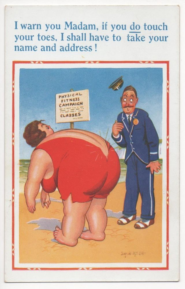 POSTCARD COMIC Donald McGill