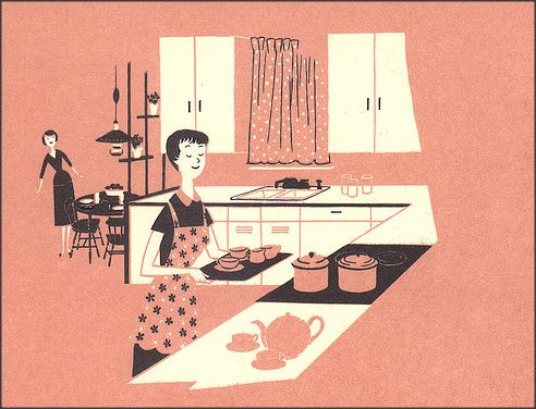 1950sunlimited:  Better Homes and Gardens Decorating Book, 1956