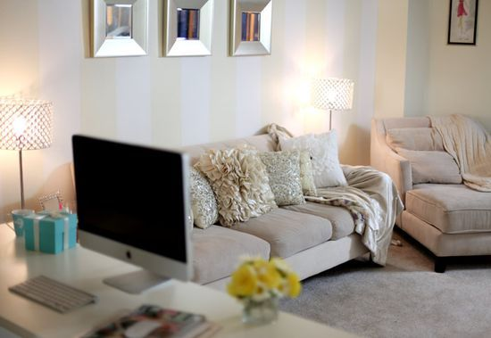 Home Office and Apartment Decorating | http://workingdesigncollections.blogspot.com
