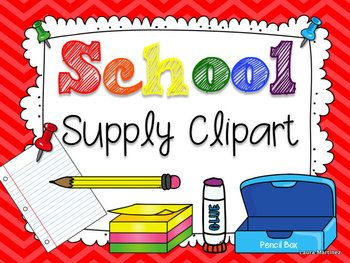 17 Best images about Clipart on Pinterest | School supplies, Back ...