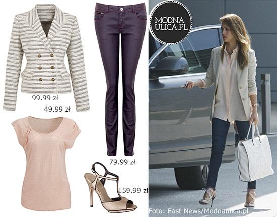 Jessica Alba nieustannie plasuje się w czołówce najlepiej ubranych kobiet. Na szczęście jej casualowy styl łatwo jest skopiować - w TK Maxx znajdziecie wszystkie elementy zestawu!