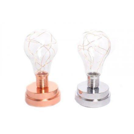 Copper/ Silver LED Bulbs
