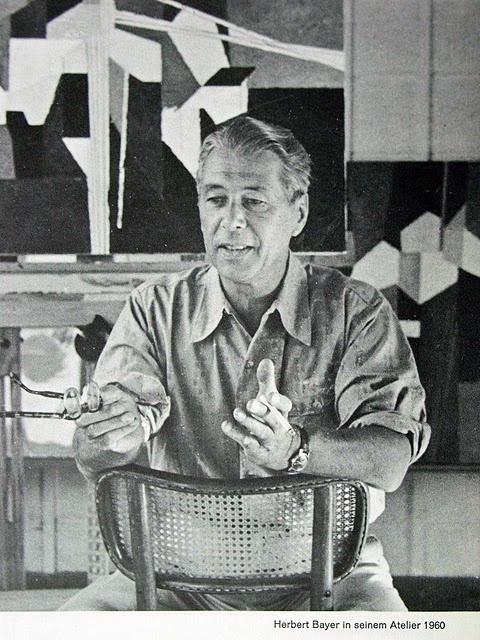 Bauhaus graphics genius Herbert Bayer