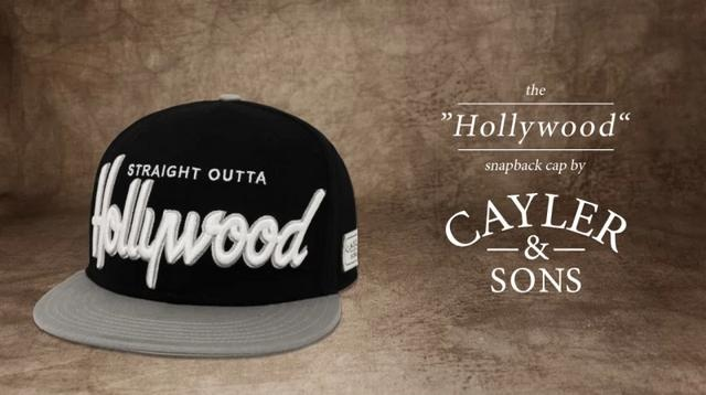 """The """"HOLLYWOOD"""" Snapback Cap by Cayler & Sons"""