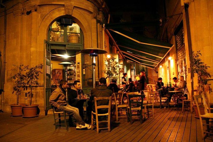 Nicosia, Cyprus. They do cafe so much better than Sydneysiders.