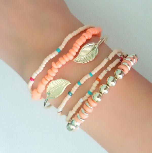bracelets-boheme-feuille-or-2017