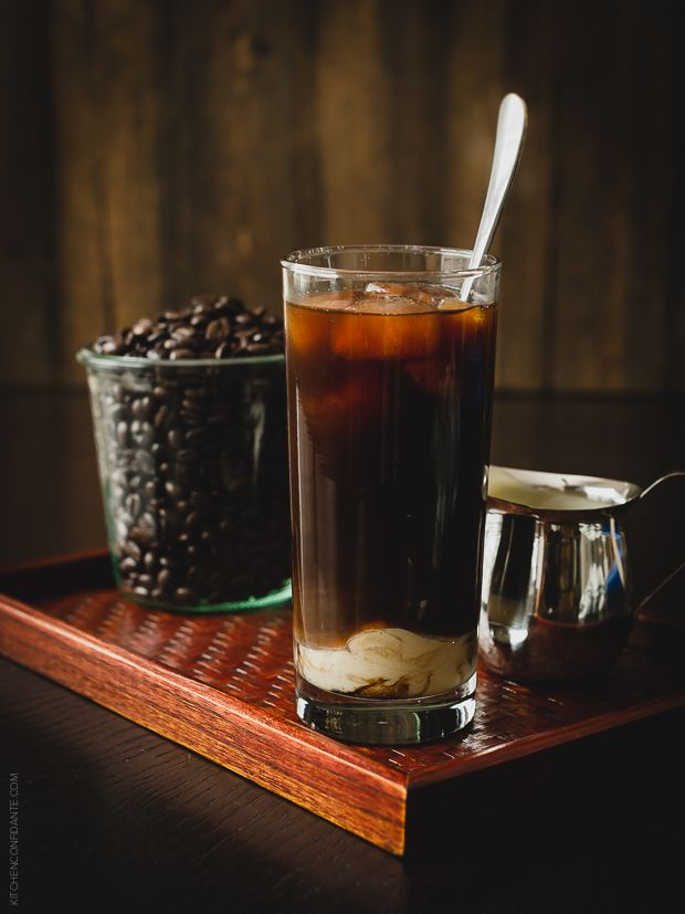 Homemade Thai Iced Coffee | http://www.kitchenconfidante.com/?utm_campaign=coschedule&utm_source=pinterest&utm_medium=Liren%20Baker%20%7C%20Kitchen%20Confidante%20(Bloggers%20Inspiring%20Us)&utm_content=Homemade%20Thai%20Iced%20Coffee  Stay cool on a hot summer day with this dark and sweet iced coffee…