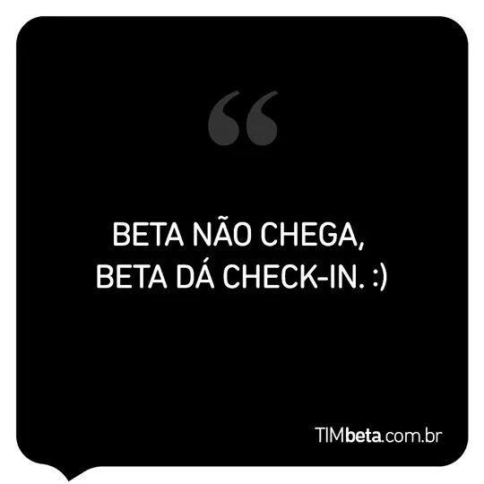#seligaBeta