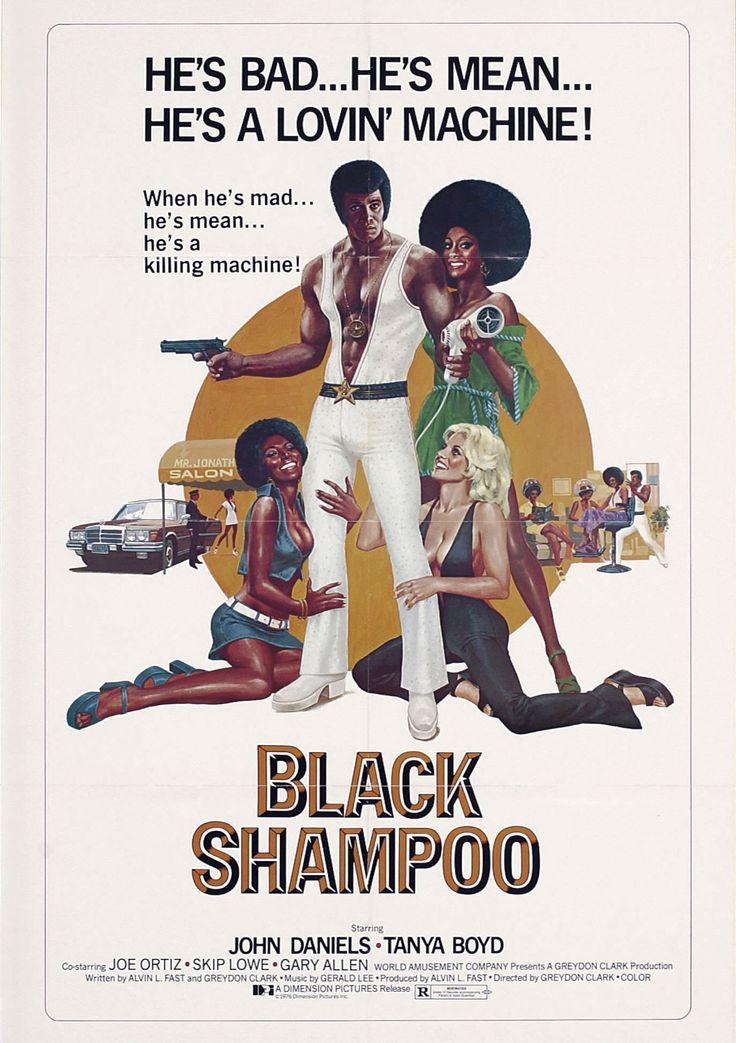 Poster for the film BLACK SHAMPOO (1976)